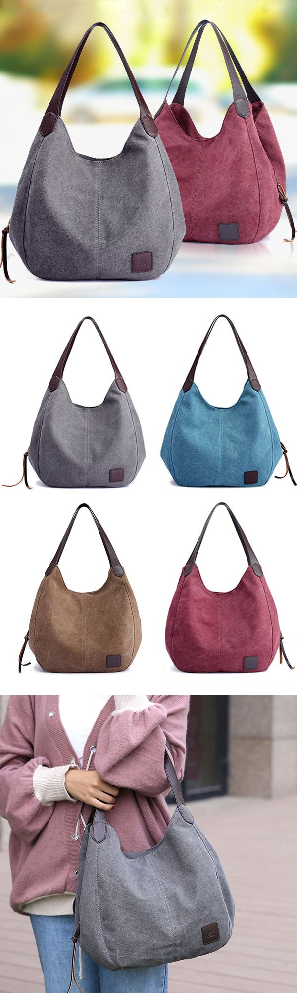 Canvas Tote Bag /Casual Handbag