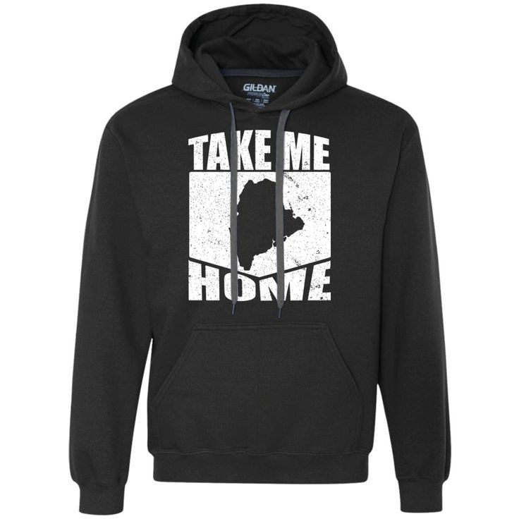 Tri Blend Pull Over Hoodie Maine Home Sweatshirt pGyGI