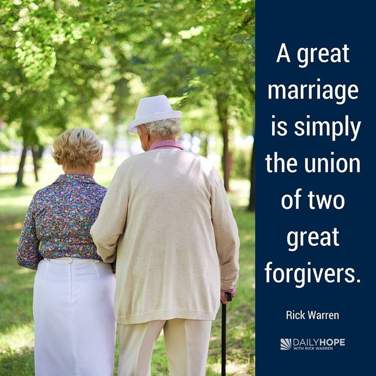 A great marriage is simply the union of two great forgivers. -Rick Warren                                                                                                                                                                                 More