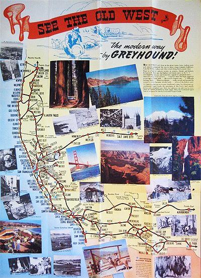 California Greyhound brochure: Travel Greyhounds, California Travel, California Oth Side, California Dreamin, Adventure Time, Greyhounds Brochures, California Dreams, Dreamland Travel, California Greyhounds