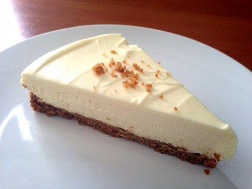 Vaníliás túrótorta sütés nélkül
