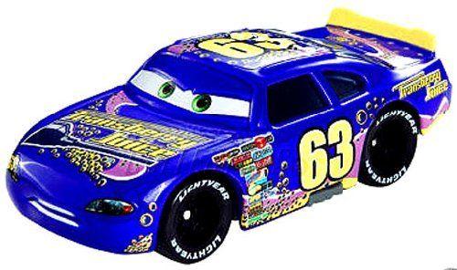Disney / Pixar CARS Movie 1:55 Die Cast Car Motor Speedway of the South #63 Transberry Juice by Mattel. $19.98
