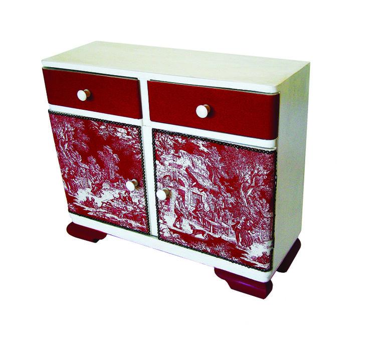 Repainted old furniture