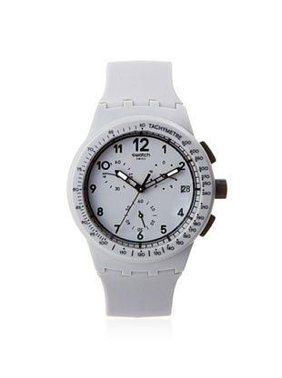 Swatch Men's SUSM400 Grey Silicone Watch
