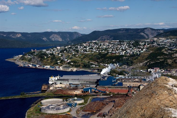 Corner Brook Newfoundland...loved the way it was shaped like a bowl, it was an amazing view everywhere.