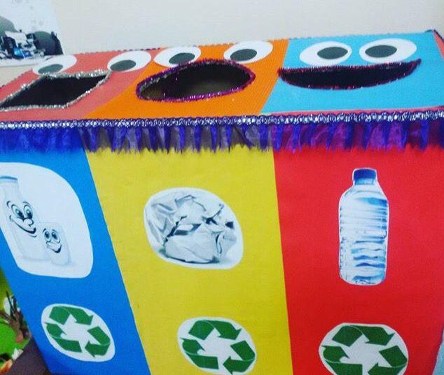 Okul öncesi geri dönüşüm bilincini geliştirici kutular #okulöncesi @Nilufererdal @okuloncesiCo