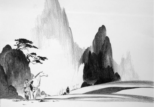 disney concepts & stuff Visual Development from Mulan by Alex Nino