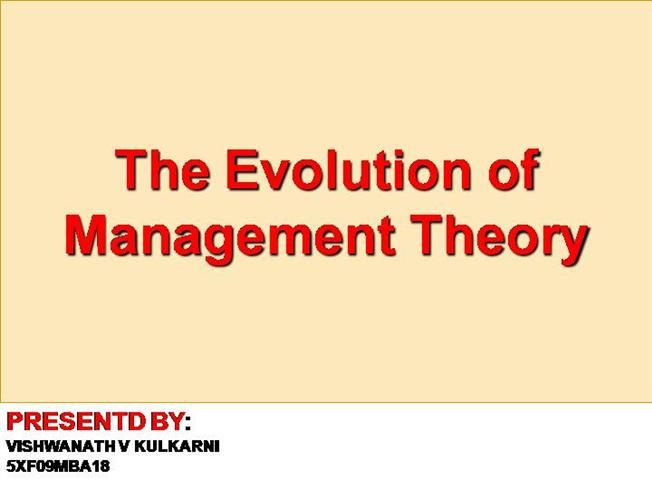 Organisational Theory Ppt By Vish134 Via Authorstream How To Motivate Employees Scientific Management Organizational