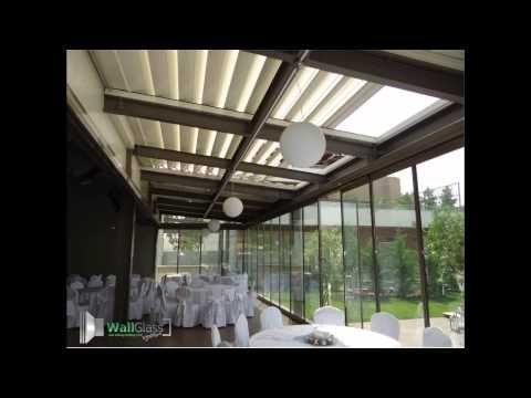 Πτυσσόμενα κρύσταλλα, Ανοιγόμενες οροφές