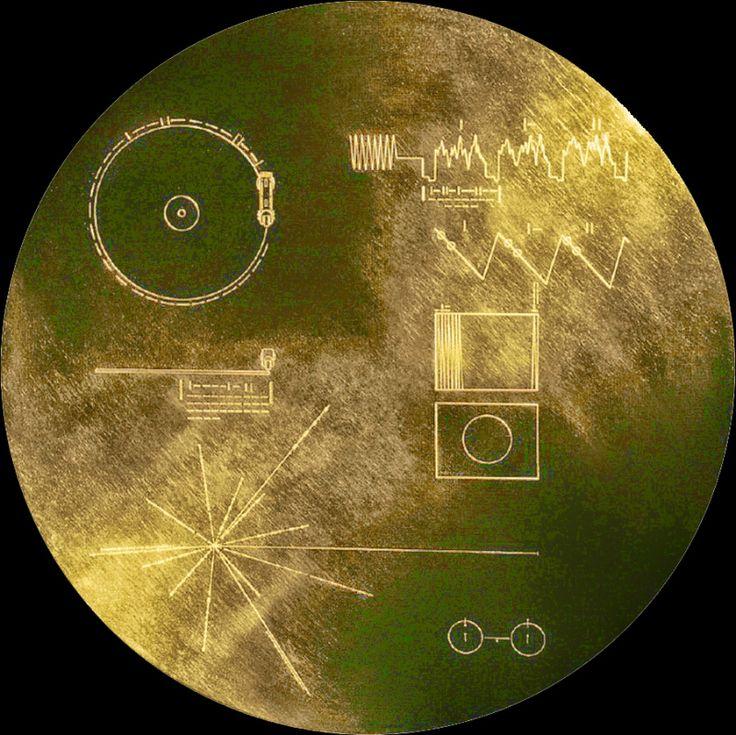"""El disco de oro """"The Sounds of Earth"""" acompaña a las sondas espaciales Voyager"""