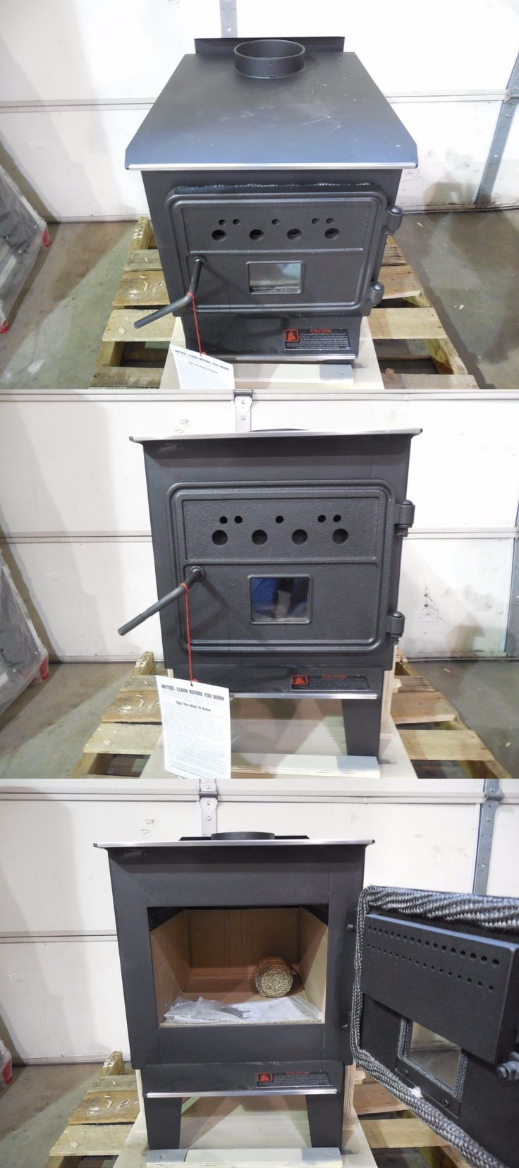 Heating Stoves 84184: Vogelzang 68,000 Btu High-Efficiency Cast Iron Wood Stove Heater W Blower -> BUY IT NOW ONLY: $399.99 on eBay!