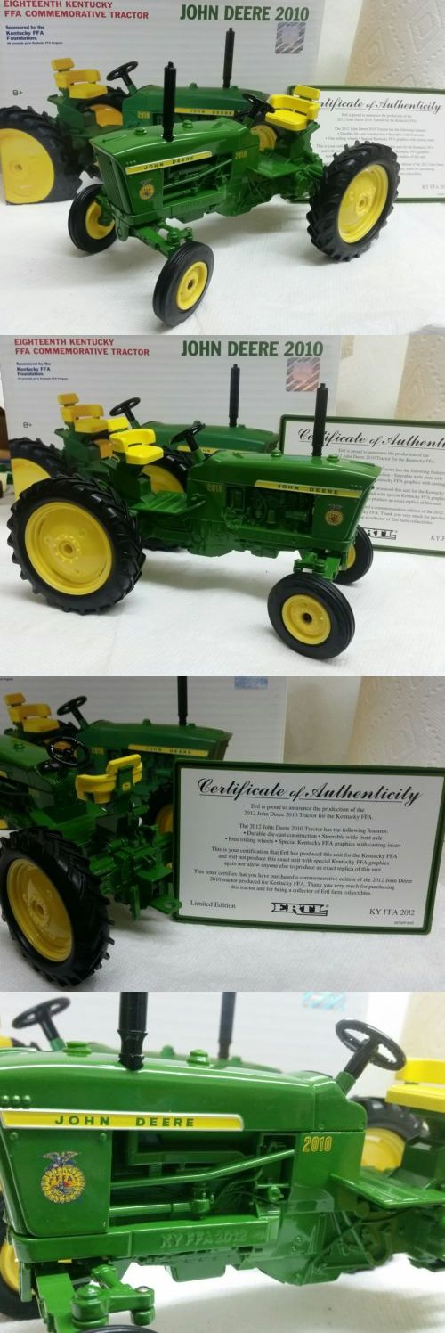Contemporary Manufacture 156623: 2012 Ertl Ky Kentucky Ffa John Deere 2010 Farm Tractor 1 16 Scale -> BUY IT NOW ONLY: $55 on eBay!