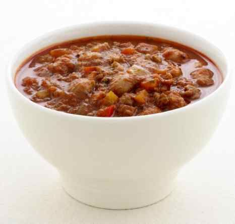Ground-beef Chili  phase 2 40 oz. (2.5 pounds) LEAN Ground beef  36 oz. total fresh veggies    2 Tbsp tomato paste (no sugar added)  1 1/2 – 2 cwater  tsp garlic powder  tsp onion powder  1-3 tsp chili powder   franks red hot hot sauce (no sugar)  Place in crock pot - 8 hrs. or stove top  med heat  4-5 hrs. Weigh each serving - Includes both  4 oz of protein AND 4 oz veggies.