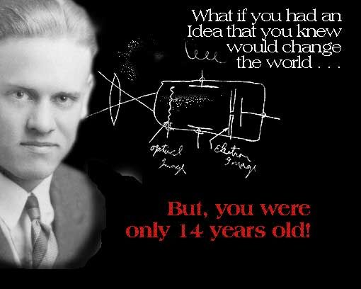 Philo T. Farnsworth, father of modern (electronic) television