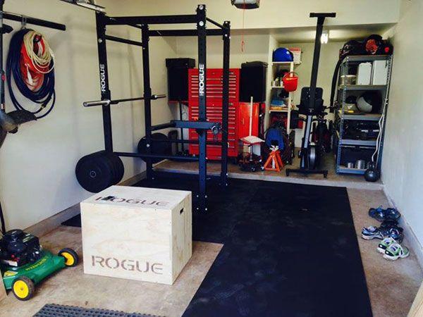Best garage gym inspirations images on pinterest