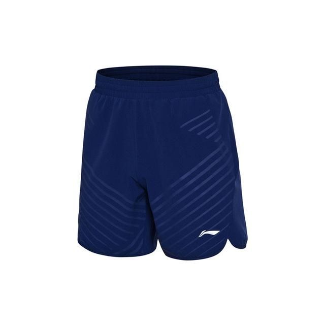 Li-Ning Men Badminton Competition Shorts Regular Fit 91.1% Polyester 8.9% Spandex LiNing Breathable Sport Shorts AAPN033 MKD1516