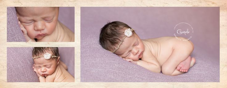 A recent newborn session I've done in purple. This is a lovely amethyst colour backdrop fabric from RosesandRuffles!