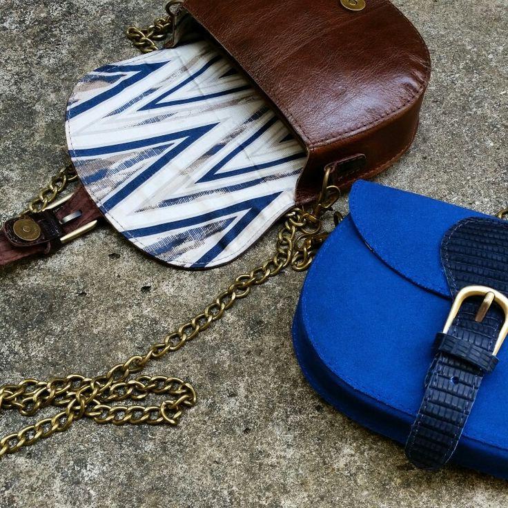 Bag minibag exclusive handmade limitededition leather suede crocodile lizard