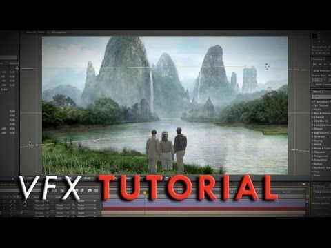 """Pulp-Adventure"" Matte Painting | VFX Tutorial - YouTube"
