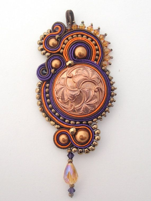 INSTANT DOWNLOAD Tutorial  Soutache Embroidery  by jodihorgan, $20.00