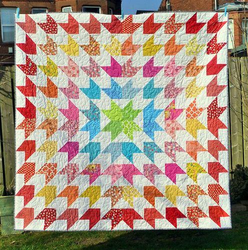 Summer Starburst Quilt (Popular Patchwork July16) | by Just Jude Designs