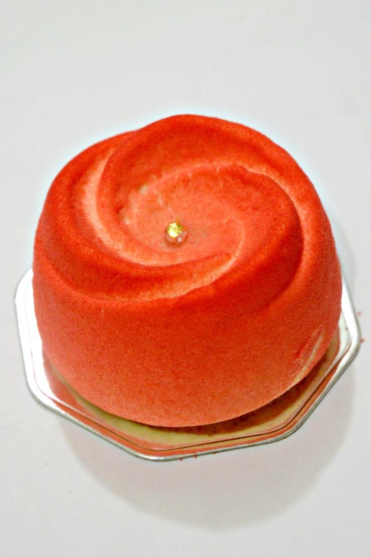 花 Cherry Mousse Cake with Chocolate Ganache & Berries Jam @ Patisserie Uriwari