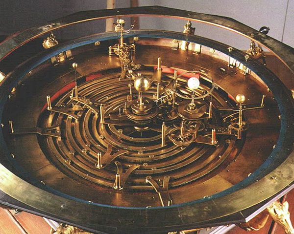 Solar system orrery! Tells you where all the planets are at any given time.