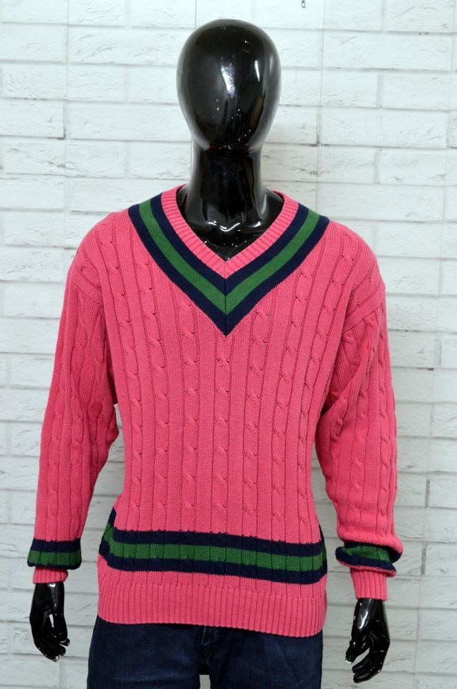Size Uomo Taglia Xxl Maglione Henry Pullover Man Vintage Cottons vq7xwYS64