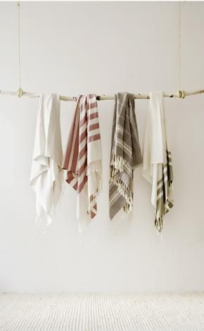 turkish bath towels: love them in every colour!