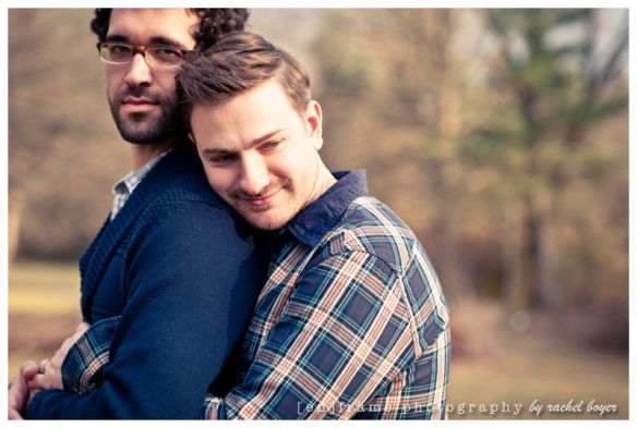 [ Brandon & David ] Engagement Session; Phoenix area Photographer, Michigan Photo Session | [en]frame photography