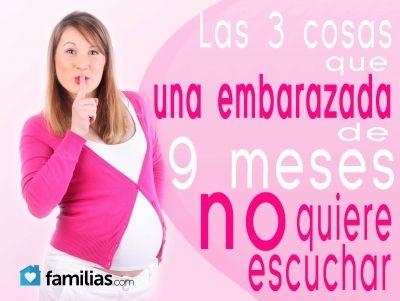 Cuando vemos a una embarazada a punto de dar a luz nuestros comentarios pueden crearles tensión o nerviosismo, seamos cuidadosos. A finales de mayo de...