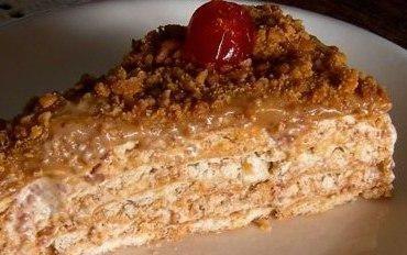 Receita de Torta Paulista (torta de amendoim) - Tudo Gostoso