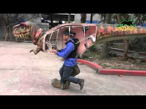 HOW TO PERFORM DINOSAUR COSTUME - YouTube