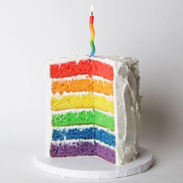 1000+ Ideas About Rainbow Cakes On Pinterest