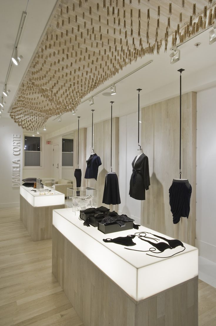 Not a hotel, but it is a great retail interior