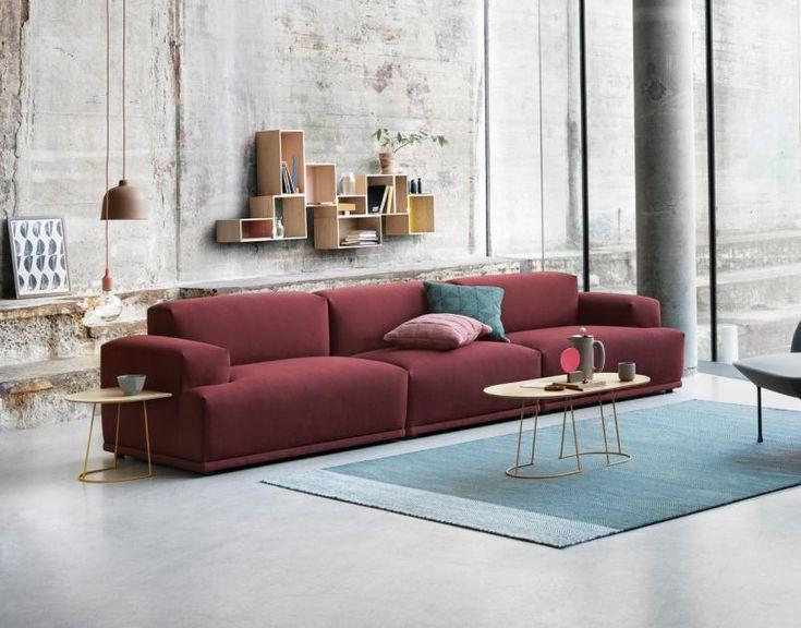 Auf Diesem Sofa Können Sie Gut Kirschen Essen, Viele Stunden Lang Mit  Vielen Freunden