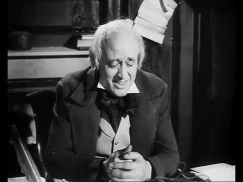 A Christmas Carol with Alastair Sim.  My father's favorite since I was little, I've grown to love it.