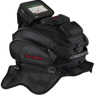 TOURMASTER, a leader in Motorcycle Apparel, Motorcycle Footwear, and Motorcycle Luggage. - Elite 14L Tank Bag