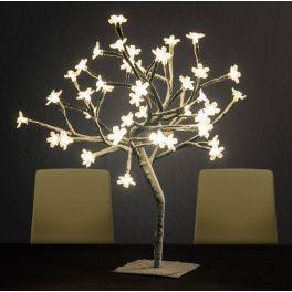Árvore de Natal LED com Neve
