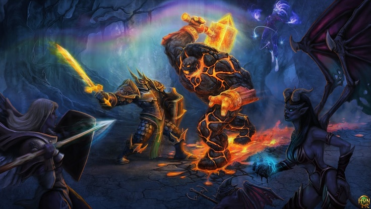 Newerth Paladin, World of warcraft, Wallpaper