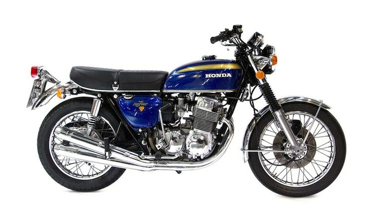 The CB750 was built to fulfill the request of US Honda dealers who saw the potential for a larger motorcycles to take on Harley-Davidson, Norton and Triumph