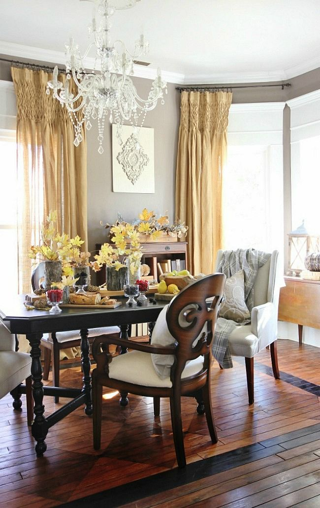 Farmhouse Dining Room Makeover With The 2017 Sherwin Williams Color Of Year