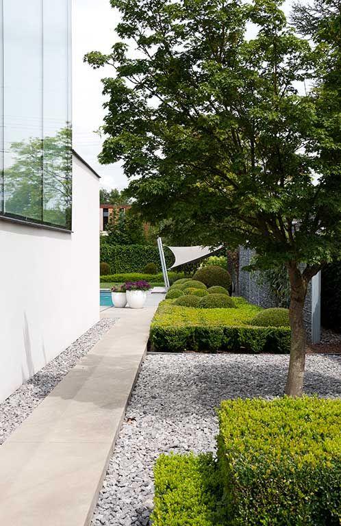 Modern tuinpad