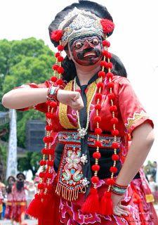 Tari topeng betawi - indonesian traditional dance