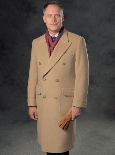 ba6968418e5e5 Camelhair Polo Coat by Ben Silver