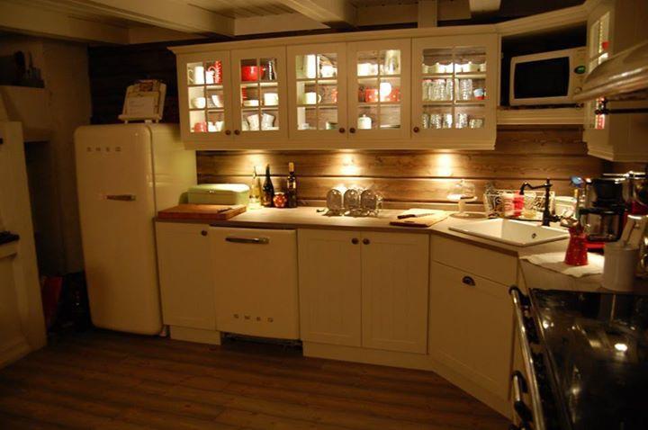 Ny kjøkkenet