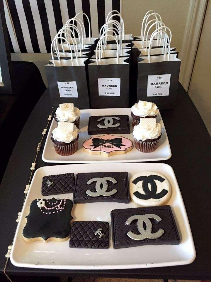 Chanel Birthday Party Ideas En 2019 Celebration Chanel