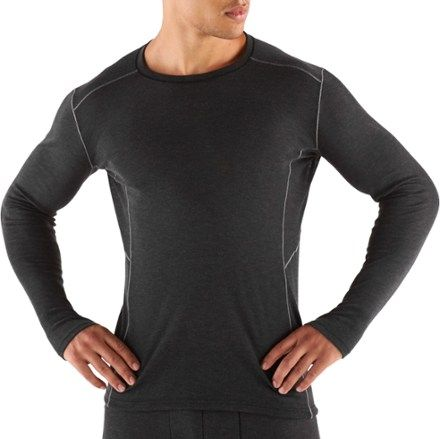 KUHL Men's Akkomplice Krew Long Underwear Top Carbon XL