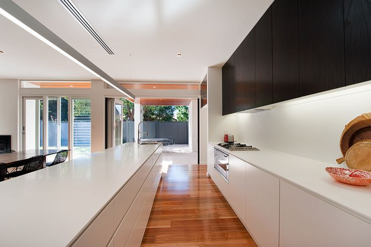 Stunning kitchen of our Heathpool project, featuring 2pac cabinetry with Corian benchtops