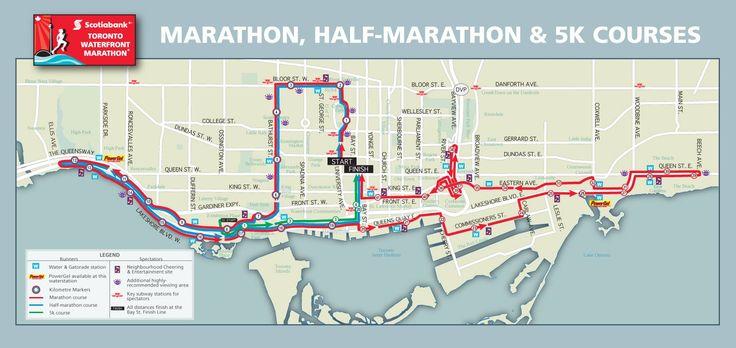 Scotiabank Toronto Waterfront Marathon recap